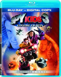 BLU-RAY MOVIE Blu-Ray SPY KIDS 3 GAME OVER