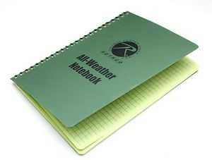 ROTHCO Outdoor Sports ALL WEATHER WATERPROOF NOTEBOOK 6X8