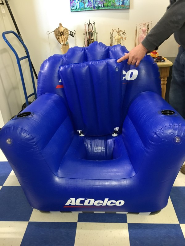 AC DELCO Camping INFLATABLE CHAIR