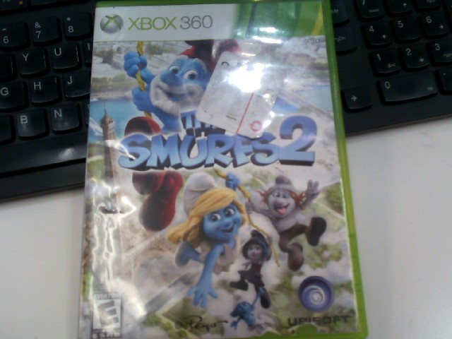 MICROSOFT Microsoft XBOX 360 Game XBOX 360 THE SMURFS 2