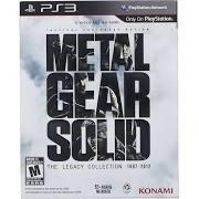 SONY Sony PlayStation 3 Game PS3 METAL GEAR SOLID