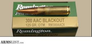 REMINGTON FIREARMS & AMMUNITION Ammunition RM300AAC6