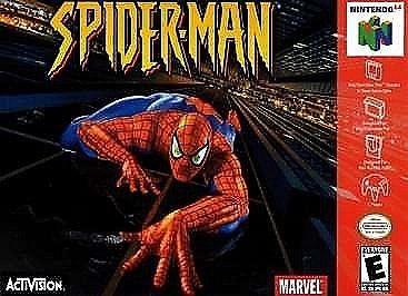 NINTENDO Nintendo 64 Game SPIDERMAN 64