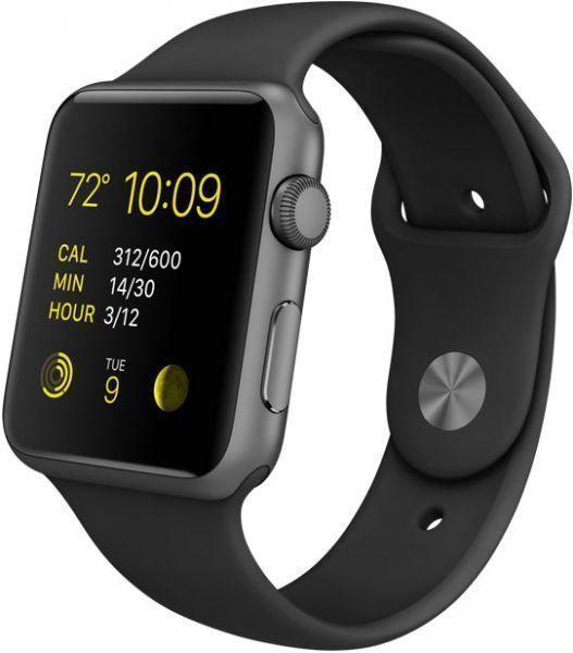 APPLE Gent's Wristwatch MJ3T2LL/A -WATCH SPORT 42MM