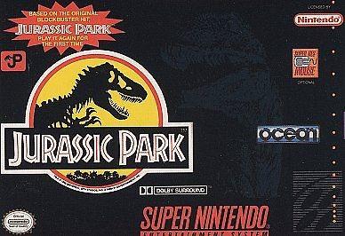 NINTENDO Nintendo SNES Game JURASSIC PARK SNES