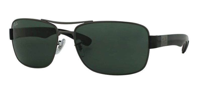 RAY-BAN RB 3522 GUNMETAL SUNGLASSES