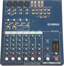 YAMAHA Mixer MG102C
