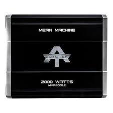 AUTOTEK Car Amplifier MMA20002
