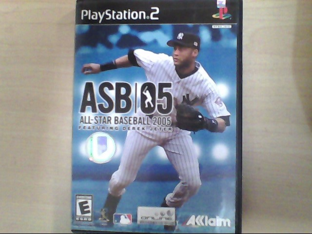 SONY Sony PlayStation 2 Game ALL-STAR BASEBALL 2005