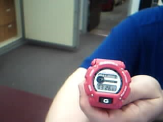 CASIO Lady's Wristwatch G-SHOCK 4491B