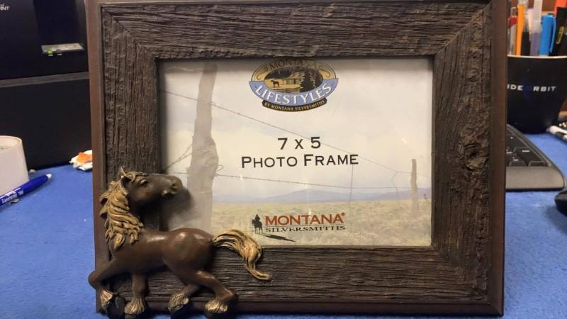 MONTANA SILVERSMITHS LIFESTYLE PHOTO FRAME