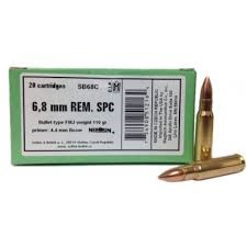 SELLIER & BELLOT Ammunition 6.8 MM REM SPC 20 CT