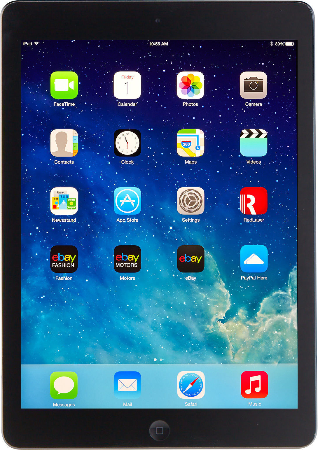 APPLE Tablet IPAD AIR ME991LL/A WI-FI + CELL - AT&T 16GB