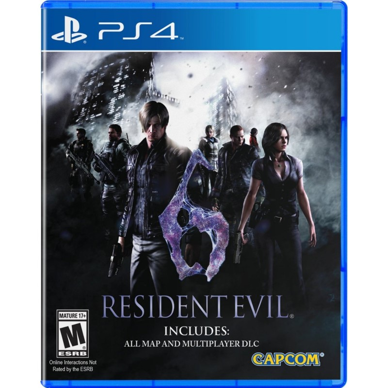SONY Sony PlayStation 3 Game RESIDENT EVIL 6