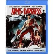 BLU-RAY MOVIE Blu-Ray ARMY OF DARKNESS SCREWHEAD EDITION