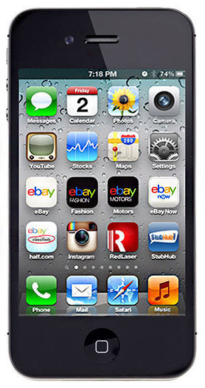 APPLE Cell Phone/Smart Phone IPHONE 4S MD377LL/A 16GB