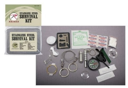 ROTHCO Outdoor Sports SURVIVAL KIT