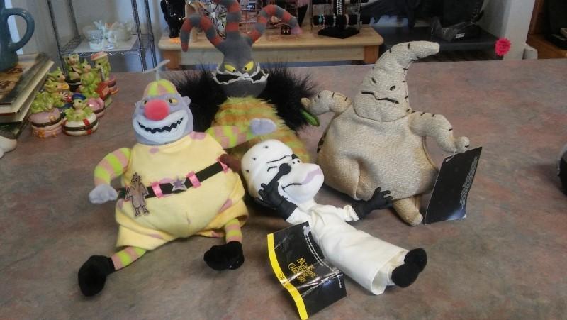DISNEY Stuffed Animal NIGHTMARE BEFORE CHRISTMAS STUFFED FIGURES