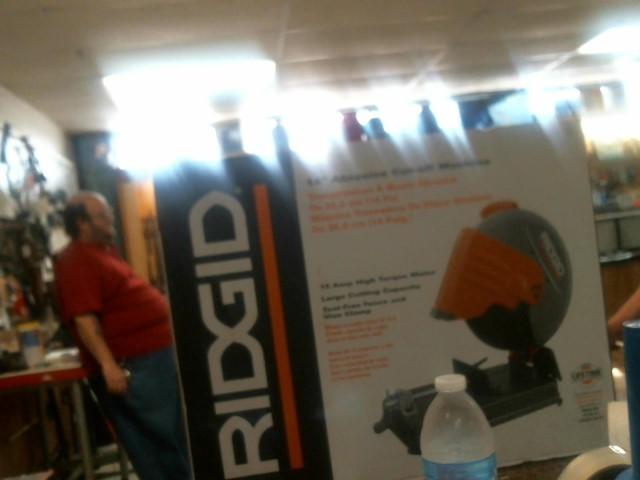 RIDGID TOOLS Radial/Chop Saw CUT-OFF