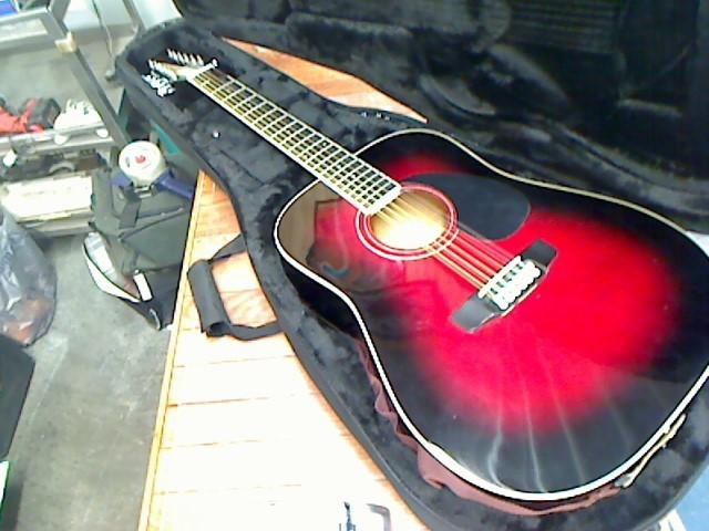 SX GUITARS Acoustic Guitar DG160/12/DSR