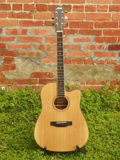 AUSTIN GUITARS Electric-Acoustic Guitar AA50-DEC