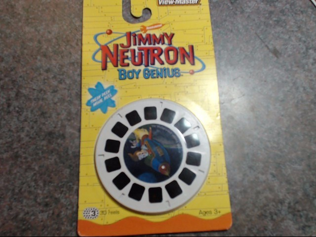 VIEW-MASTER Miscellaneous Toy JIMMY NEUTRON