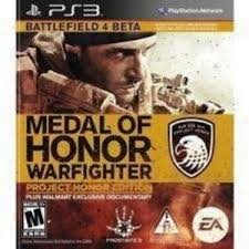 SONY Sony PlayStation 3 Game MEDAL OF HONOR WARFIGHTER - PROJECT HONOR EDITION