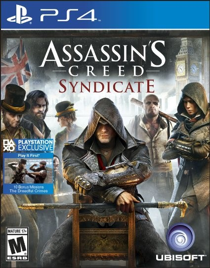 SONY Sony PlayStation 4 Game PS4 GAME ASSASSINS CREED SYNDICATE