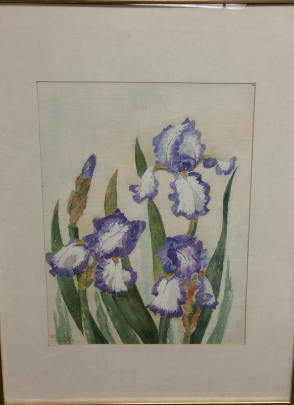 WINFIELD MOSTEN Painting FLOWER PAINTING
