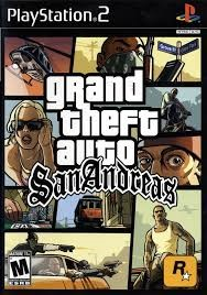 SONY Sony PlayStation 2 Game PS2 GRAND THEFT AUTO SAN ANDREAS