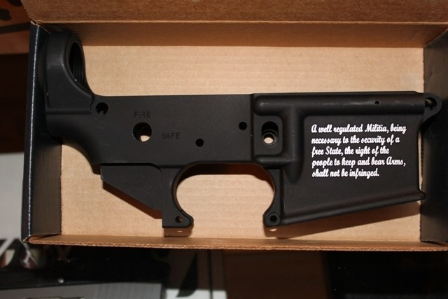 STAG ARMS Receiver LOWER RECEIVER - 2ND AMENDMENT