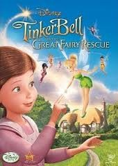 DVD MOVIE DVD TINKERBELL AND THE GREAT FAIRY RESCUE
