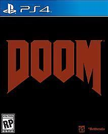 SONY Sony PlayStation 4 Game DOOM - PS4