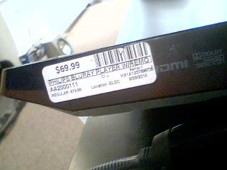 PHILIPS DVD Player BDP2105/F7