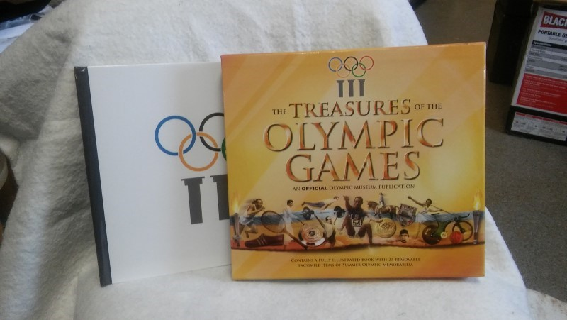 CARLTON Non-Fiction Book TREASURES OF THE OLYMPIC GAMES