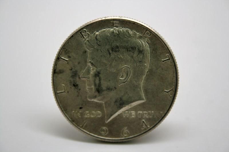 UNITED STATES 1964 D KENNEDY HALF DOLLAR