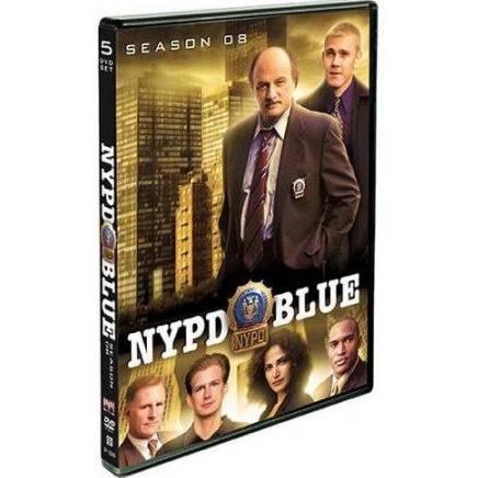 DVD BOX SET DVD NYPD BLUE SEASON 8