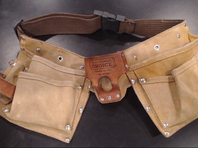 PROFESSIONALS CHOICE Tool Bag/Belt/Pouch I370X3