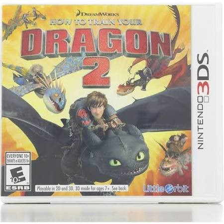 NINTENDO Nintendo 3DS Game HOW TO TRAIN YOUR DRAGON 2 3DS
