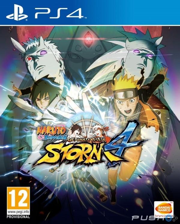 SONY Sony PlayStation 4 Game NARUTO SHIPPUDEN ULTIMATE NINJA STORM 4