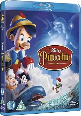 BLU-RAY MOVIE Blu-Ray PINOCCHIO