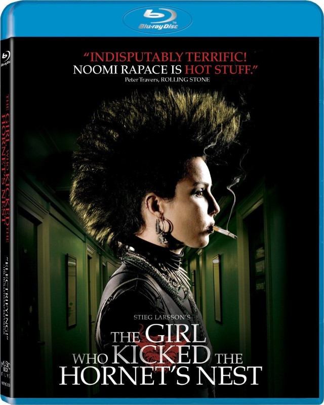 BLU-RAY MOVIE Blu-Ray THE GIRL WHO KICKED THE HORNETS NEST