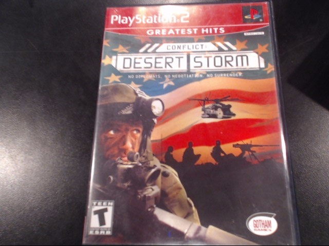SONY Sony PlayStation 2 Game CONFLICT DESERT STORM
