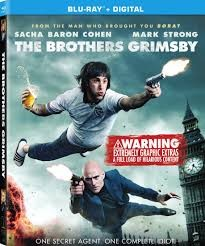 BLU-RAY MOVIE Blu-Ray THE BROTHERS GRIMSBY