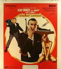 CED Vintage Movie & Photography GOLDFINGER