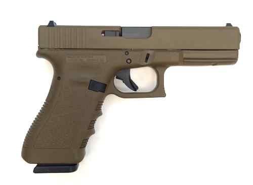 GLOCK Pistol G17 DARK EARTH