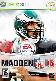 MICROSOFT Microsoft XBOX 360 Game MADDEN NFL 06 - XBOX 360