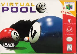 NINTENDO Nintendo 64 Game VIRTUAL POOL N64