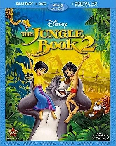 Blu-ray Movie Disney's The Jungle Book 2 - NIB - Bluray + DVD