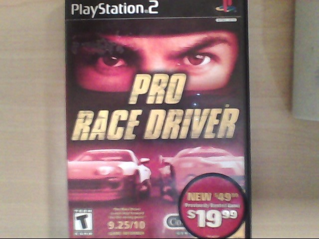 SONY Sony PlayStation 2 Game PRO RACE DRIVER